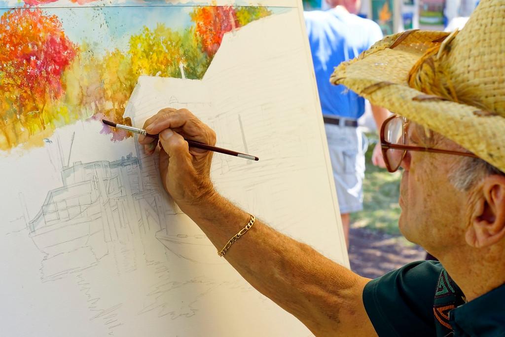 "Artists in the Park at Veterans Park, Artist, Charles Passarelli,  <a href=""http://www.passarelli-art.com"">http://www.passarelli-art.com</a>"