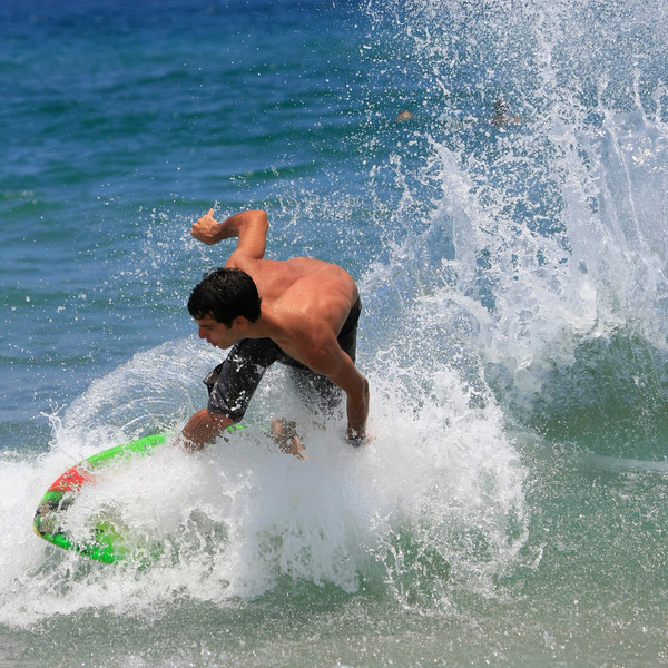 Boca Raton FL Beach Skim Boarding July 4th 2007 (22)