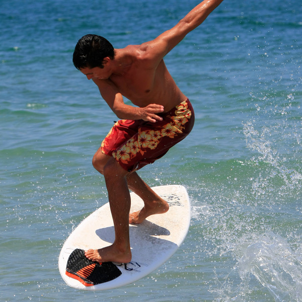 Boca Raton FL Beach Skim Boarding July 4th 2007 (18)