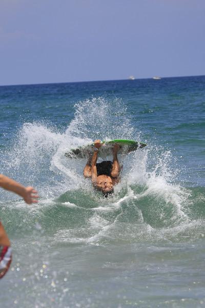 Boca Raton FL Beach Skim Boarding July 4th 2007 (115)