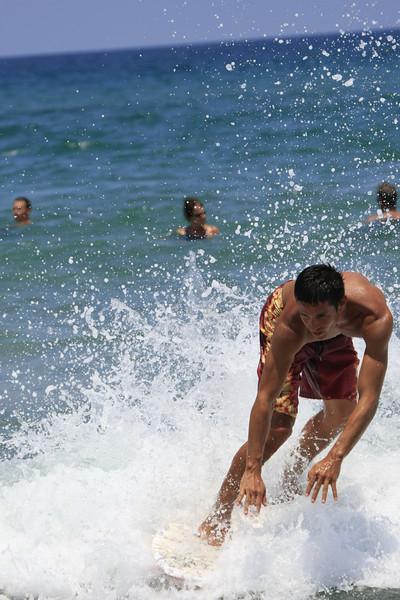Boca Raton FL Beach Skim Boarding July 4th 2007 (218)