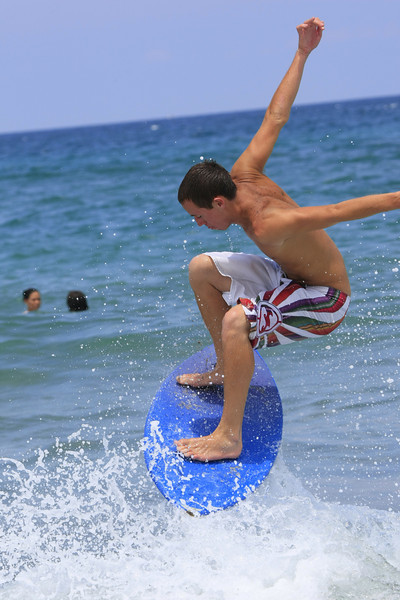 Boca Raton FL Beach Skim Boarding July 4th 2007 (63)
