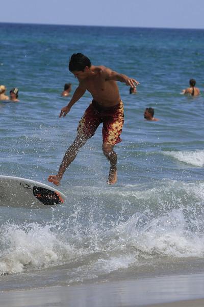 Boca Raton FL Beach Skim Boarding July 4th 2007 (54)
