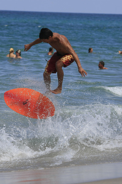 Boca Raton FL Beach Skim Boarding July 4th 2007 (55)