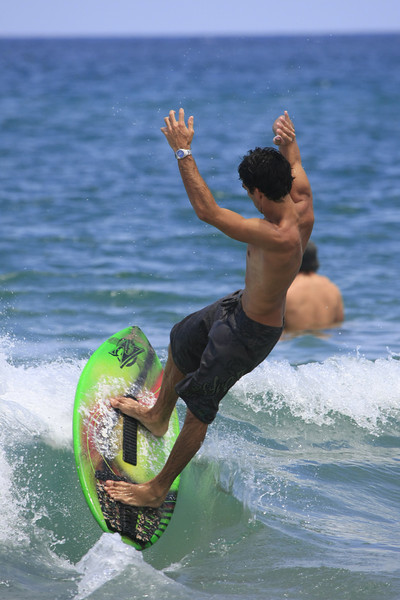 Boca Raton FL Beach Skim Boarding July 4th 2007 (53)
