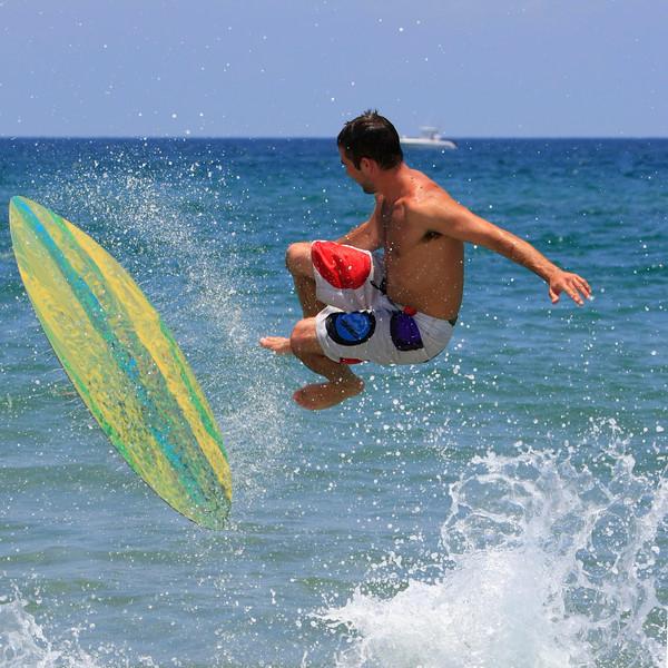 Boca Raton FL Beach Skim Boarding July 4th 2007 (2)
