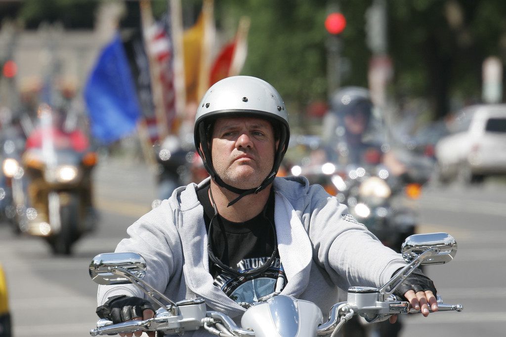 Ride For Freedom XVIII, May 29th, 2005 - Rolling Thunder Inc.'s major function is to publicize the POW-MIA issue