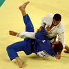 Olympics+Day+5+Judo+Irakli Tsirekidze of Georgia competes against Amar Benikhlef of Algeria in their Men's 90 kg Gold Medal Contest judo bout at the University of Science and Technology Gymnasium