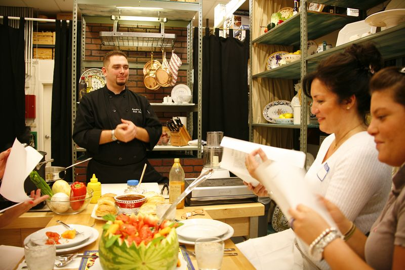 Willaims-Sonoma Cooking Classes - 1110