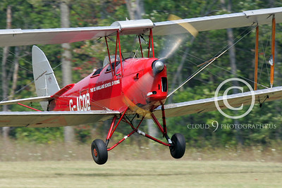 de Havilland Tiger Moth 00122 by Peter J Mancus