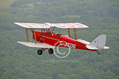 de Havilland Tiger Moth 00100 by Peter J Mancus