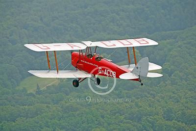 de Havilland Tiger Moth 00102 by Peter J Mancus
