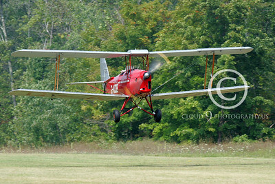 de Havilland Tiger Moth 00120 by Peter Mancus
