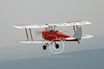 de Havilland Tiger Moth 00104 by Peter J Mancus