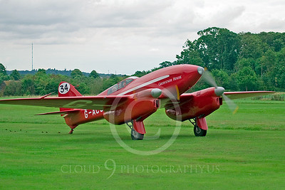 de Havilland DH 88 Comet 00001 Grosvenor House by Tony Fairey