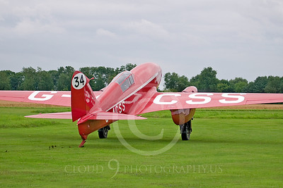 de Havilland DH 88 Comet 00004 Grosvenor House by Tony Fairey