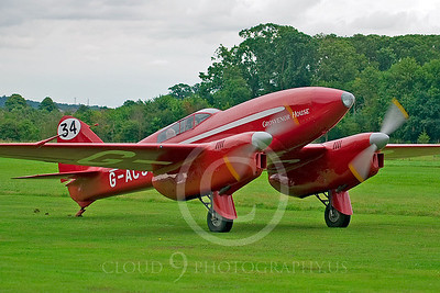 de Havilland DH 88 Comet 00002 Grosvenor House by Tony Fairey