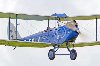 CIW - 1925 de Havilland DH60 Moth G-EBLV 00034 by Tony Fairey