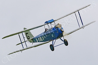 CIW - 1925 de Havilland DH60 Moth G-EBLV 00018 by Tony Fairey