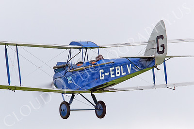 CIW - 1925 de Havilland DH60 Moth G-EBLV 00012 by Tony Fairey