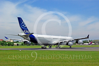 ALPJP-A340 00005 Airbus A340-300 F-WWAI by Stephen W D Wolf