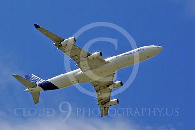 ALPJP-A340 00024 Airbus A340-300 F-WWAI by Stephen W D Wolf
