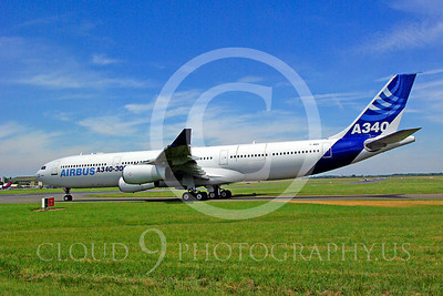 ALPJP-A340 00003 Airbus A340-300 F-WWAI by Stephen W D Wolf