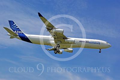 ALPJP-A340 00010 Airbus A340--300 F-WWAI by Stephen W D Wolf