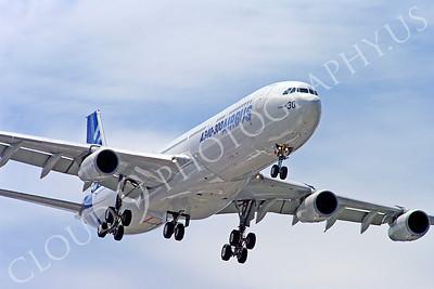 ALPJP-A340 00016 Airbus A340-300 F-WWAI by Stephen W D Wolf