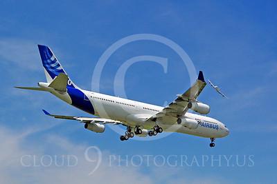 ALPJP-A340 00028 Airbus A340-300 F-WWAI by Stephen W D Wolf