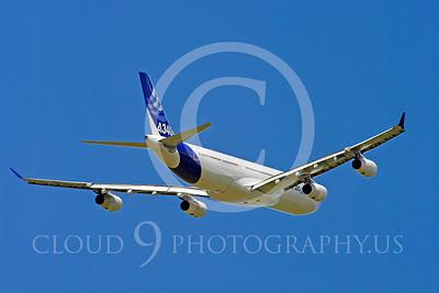 ALPJP-A340 00014 Airbus A340-300 F-WWAI by Stephen W D Wolf