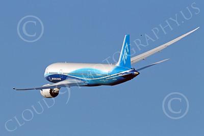 ALPJP-B787 00002 A flying Boeing 787 Dreamliner prototype, N787BA, by Peter J Mancus