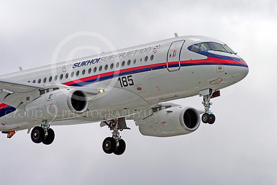 ALPJP-SSJ100 00026 Sukhoi Super Jet 100 97003 airplane picture by Stephen W D Wolf