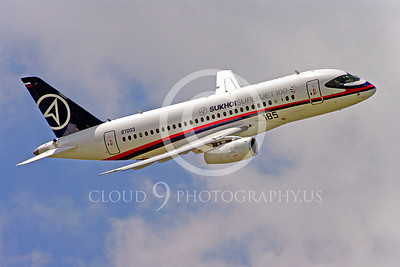 ALPJP-SSJ100 00012 Sukhoi Super Jet 100 97003 airplane picture by Stephen W D Wolf