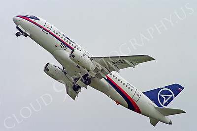 ALPJP-SSJ100 00006 Sukhoi Super Jet 100 97003 airplane picture by Stephen W D Wolf