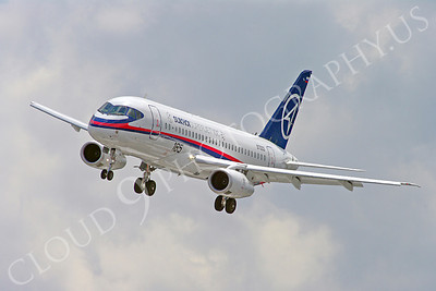 ALPJP-SSJ100 00020 Sukhoi Super Jet 100 97003 airplane picture by Stephen W D Wolf