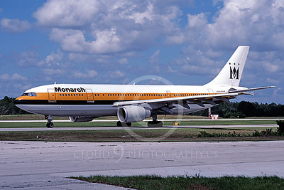A300 00007 Airbus A300 Monarch September 1998 by Peter J Mancus