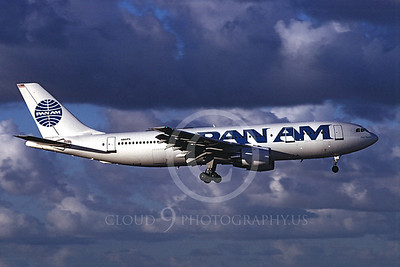 A300 00012 Airbus A300 Pan Am N861PA July 1997 by Peter J Mancus