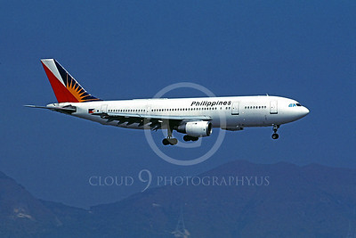 A300 00010 Airbus A300 Philippines December 1995 by Peter J Mancus