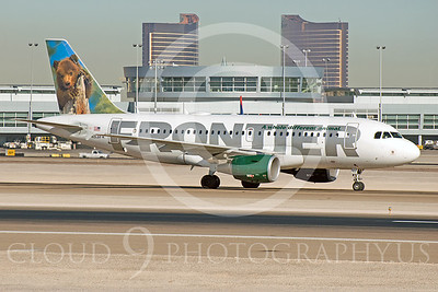 A319 00007 Airbus A319 Frontier N931FR by Dave Budd