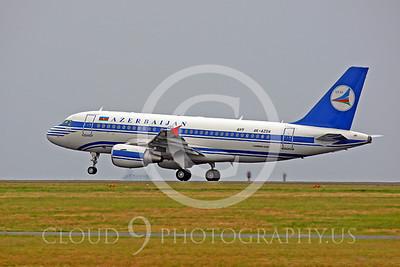 A319 00009 Airbus A319 Azerbaijan 4K-AZOA by Peter J Mancus