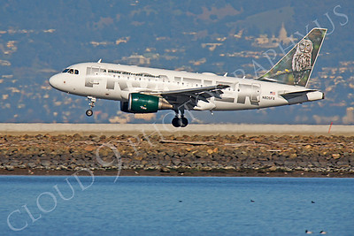 A319 00182 Airbus A319 Frontier N805FR by Peter J Mancus