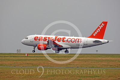 A319 00109 Airbus A319 EasyJet G-EZAM by Peter J Mancus