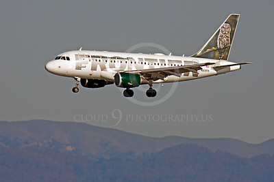 A319 00070 Airbus A319 Frontier N805FR by Peter J Mancus