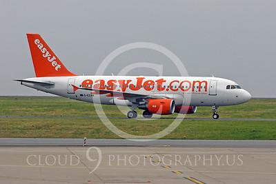 A319 00179 Airbus A319 EasyJet G-EZAM by Peter J Mancus