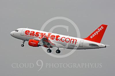 A319 00012 Airbus A319 EasyJet G-EZBJ by Peter J Mancus