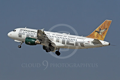 A319 00030 Airbus A319 Frontier N916FR by Tim Wagenknecht
