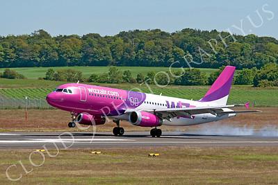 A320 00017 Airbus A320 Wizz Air by Alasdair MacPhail