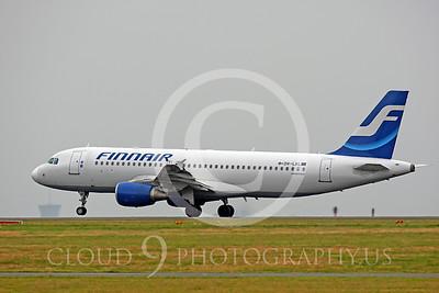 A320 00013 Airbus A320 Finnair OH-LXL by Peter J Mancus