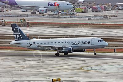 A320 00005 Airbus A320 Aero Mexicana by Peter J Mancus